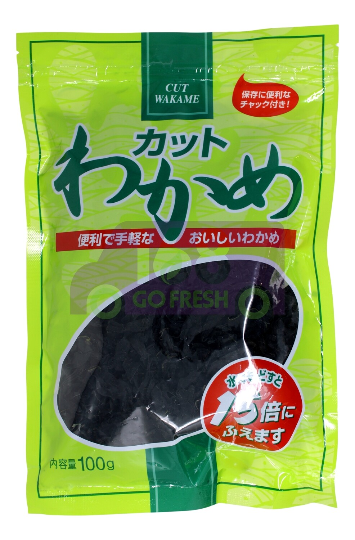 Cut Wakame(Dried Seaweed) 裙带菜Wakame 4901540248067(100G)