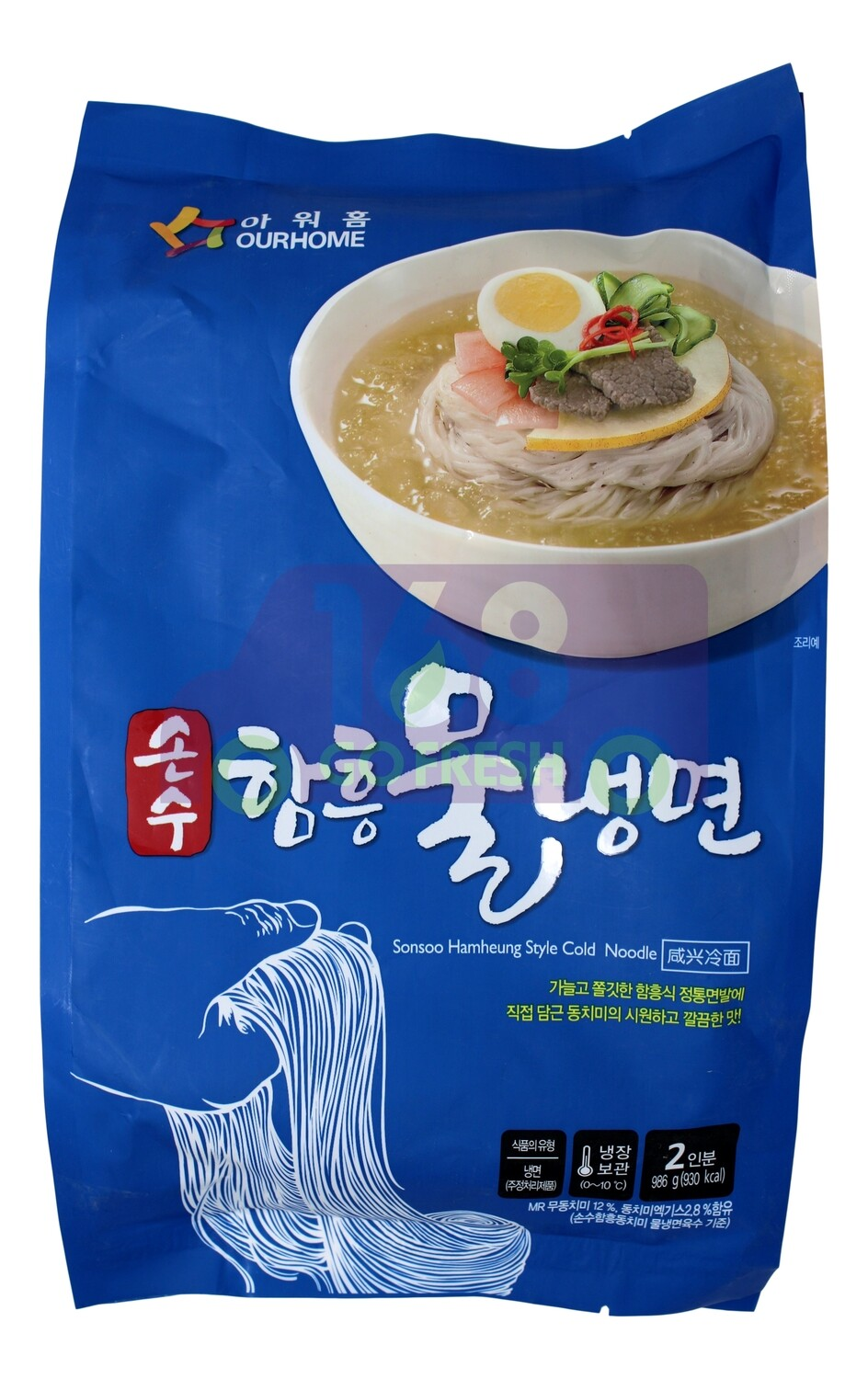 SONSOO HAMHEUNG STYLE COLD NOODLE 韩国OURHOME 咸兴冷面(986G)