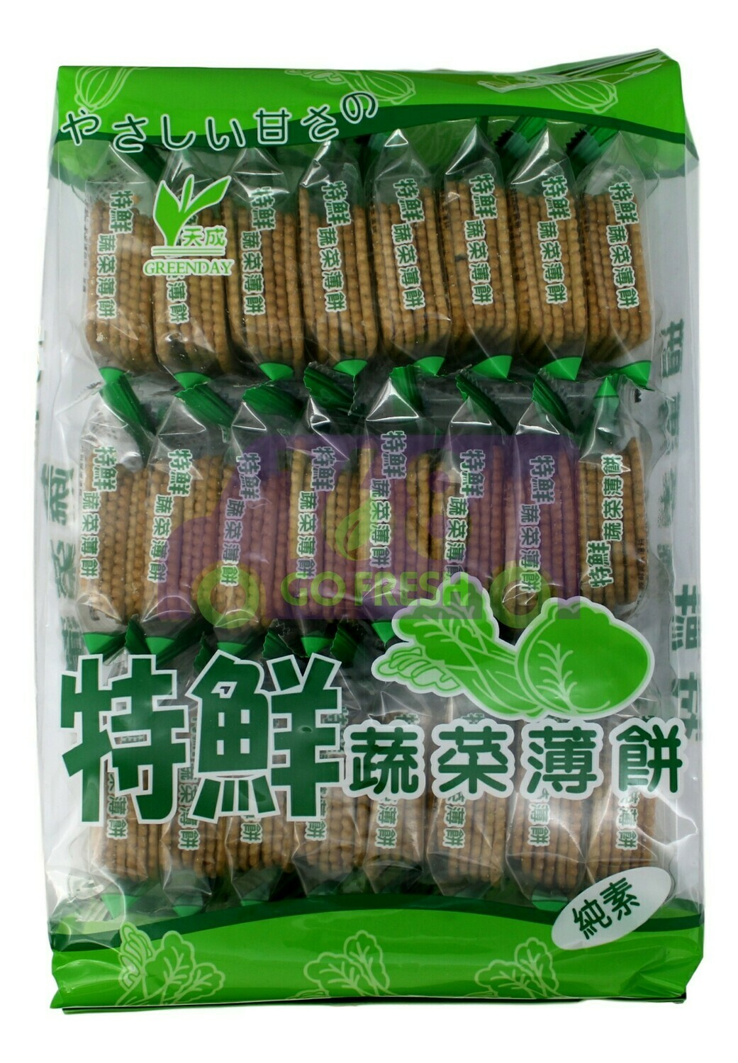 VEGETABLE BISCUITS 天成 特鲜蔬菜薄饼(300G)