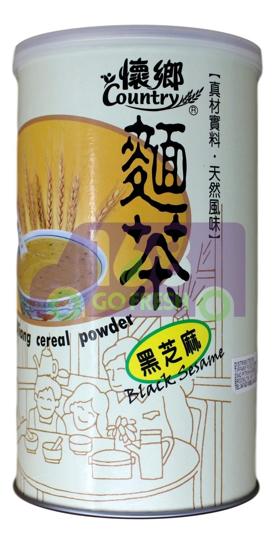 HUAI-XIANG CEREAL POWER BLACK SESAME  FLAVOR 怀乡面茶 黑芝麻风味(550G)