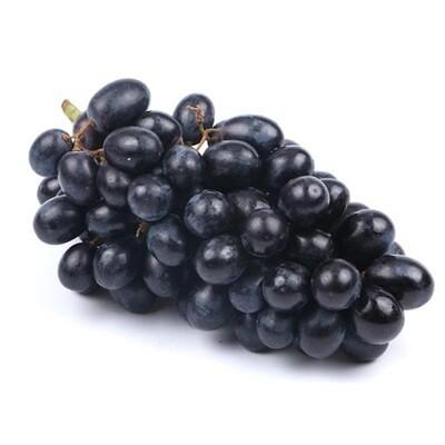 Seedless Black Grapes 无核黑提子(1.4-1.6LB)