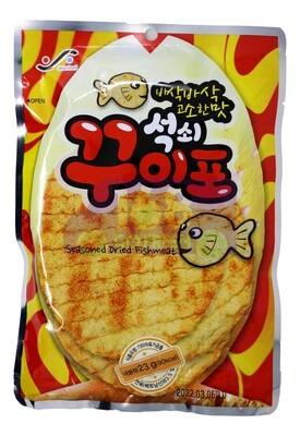 SEASONED DRIED FISHMEAT韩国 调味脆鱼片(23G)