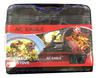 AC EAGLE PORTABLE GAS STOVE 便捷煤气炉 红色/黑色