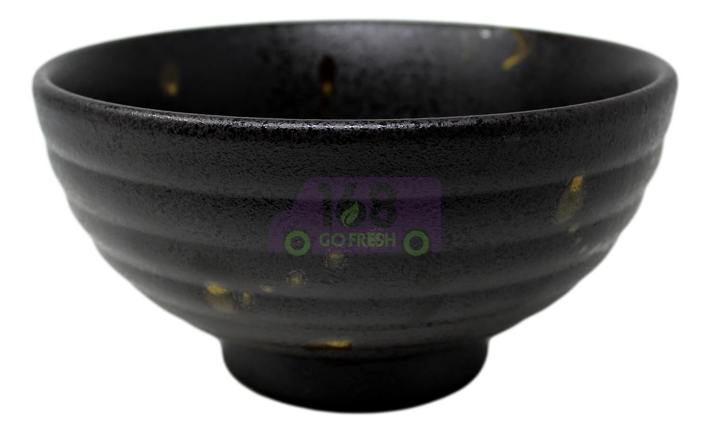 """Bowl 7.5""""日式汤碗 黑瓷碗 51547"""