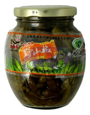 PICKLED PEPPER 泡菜坊 野山椒(350G)