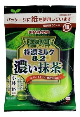 Uha Rich Milk Matcha Candy 日本 味觉糖 特浓抹茶牛奶糖