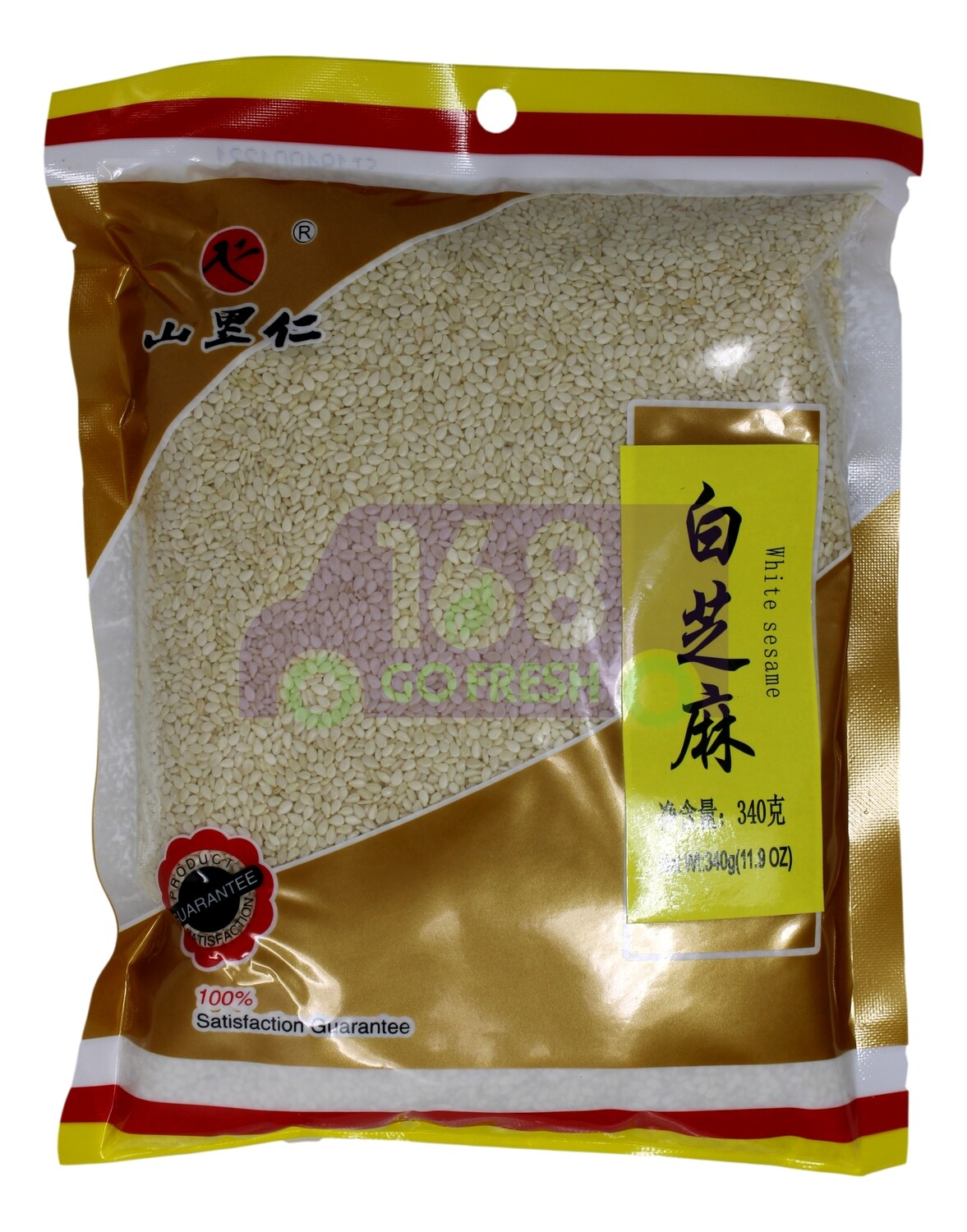 mountaineer white sesame 山里仁 白芝麻 (11.9 oz)
