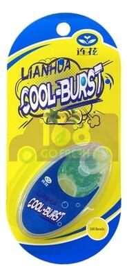 YILING LianHua Cool-Burst 100 beans以岭 莲花爆珠 100粒-在口罩内捏碎爆珠.清香持久