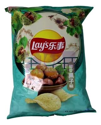 LAY'S CHESNUT FLAVOR CHIPS 乐事 马铃薯片  醇香栗子味(60G)