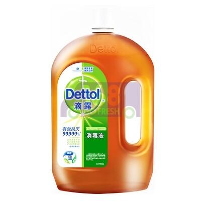 DETTOL Original First Aid Antiseptic Liquid 1.8L DETTOL滴露消毒液(大容量装- 衣物除菌剂杀菌除螨儿童宝宝内衣家居室内宠物猫狗环境消毒)1.8升