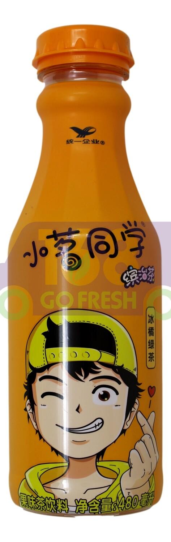 UNIF GREEN TEA DRINK  小茗同学 冷泡冰橘绿茶(480ML)