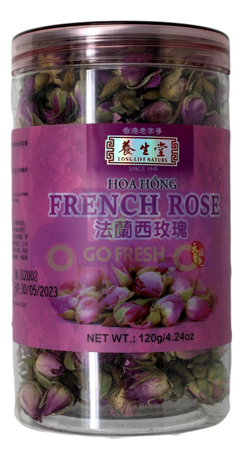 LONG LIFE NATURE FRENCH ROSE 养生堂 法兰西玫瑰(120G)
