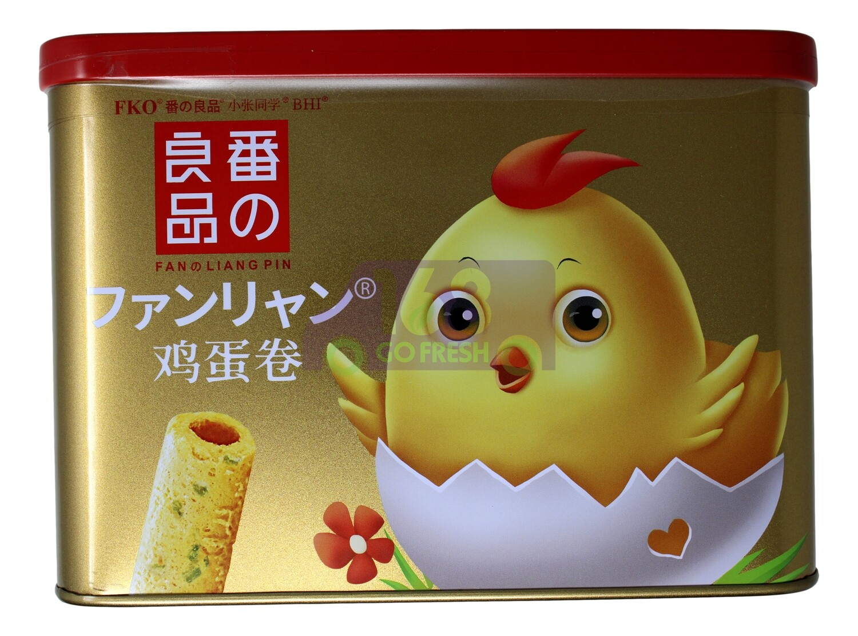 FKO EGG ROLL-SCALLION  番之良品 鸡蛋卷 香葱味