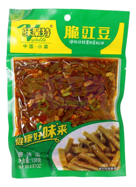 CRISP COWPEA PICKLES 味聚特 脆豇豆(250G)