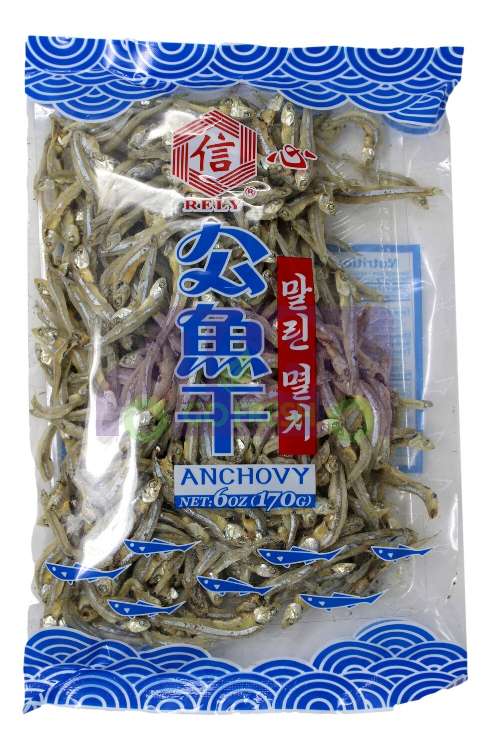 RELY ANCHOVY 公鱼干(6OZ)