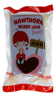 HAWTHORN BERRY JAM SWEET 家乡味 山楂糕(250G)