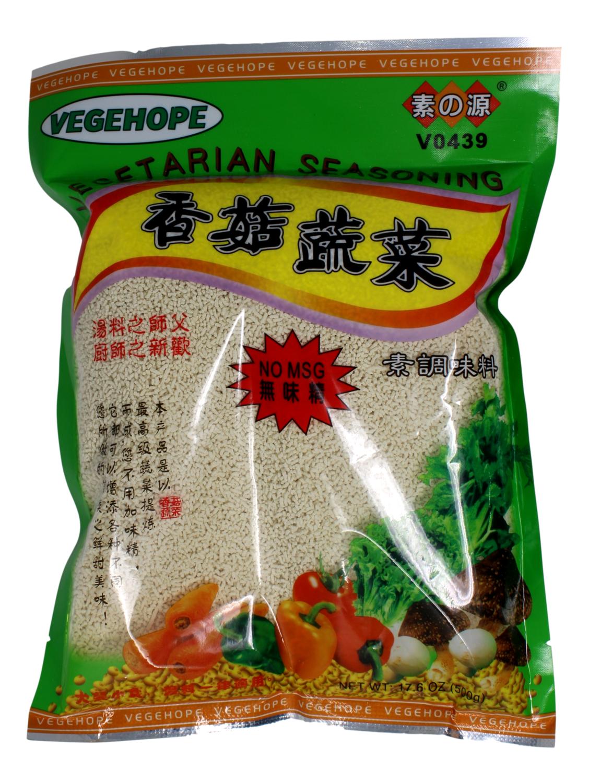 VEGEHOPE VEGETARIAN SEASONING 素源 香菇蔬菜调味料(500G)