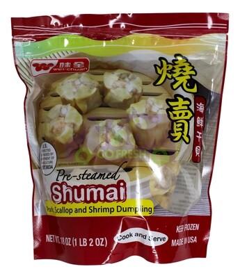 WEIQUAN PRESTEAMED SHUMAI PORK, SCALLOP & SHRIMP 味全 海鲜干贝 烧卖(18OZ)