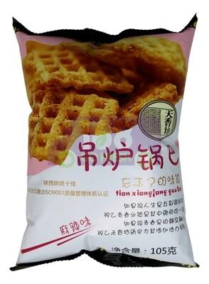 COARSE GRAIN RICE CHIPS FIVE SPICE 天香坊 吊炉锅巴 麻辣味(105G)