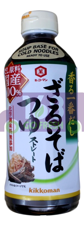 KIKKOMAN SOBA TSUYU SOUP BASE  日本 万字拉面汤底(绿色)FOR SOBA