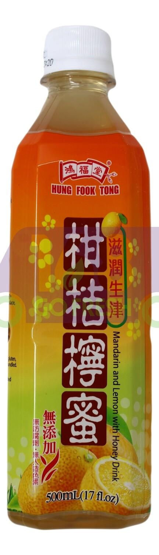 Mandarin And Lemon With Honey Drink 鸿福堂 柑桔檸蜜(500ml)