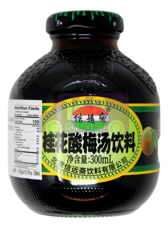 PLUM DRINK 信远斋 桂花酸梅汤饮料(300ML)