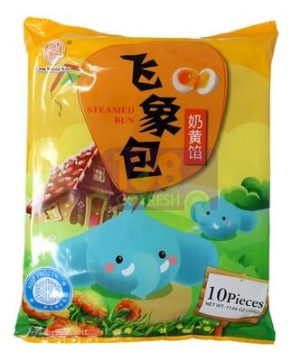 ANIMAL STYLE BEAR BUN(CUSTARD) 林生记 飞象包 奶黄馅(10个)