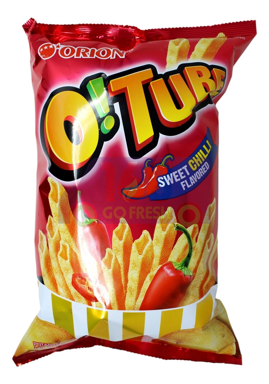 ORION O!TUBE SWEET CHILI POTATO CHIPS 韩国 好丽友 甜辣味筒状薯条(115G)