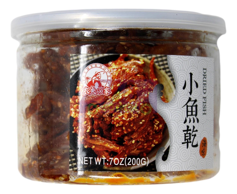 Dried Fish 农夫之家 小鱼干/鳗鱼丝 (7 OZ)