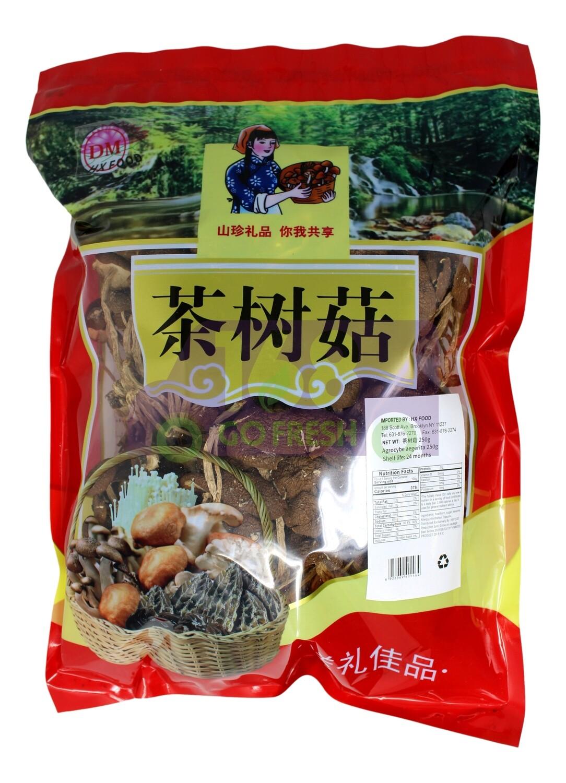 Dried Tea-tree Mushroom 250G 优质茶树菇250G