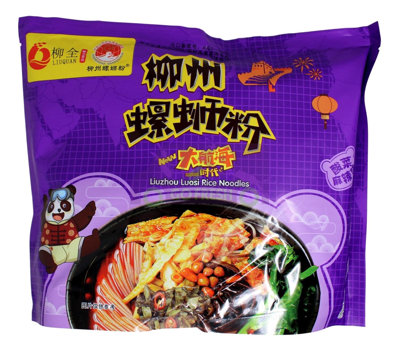 LIU QUAN NOODLES 柳全 柳州螺蛳粉 酸菜麻辣味(315G)