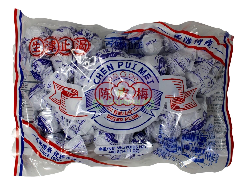 DRIED PLUM-CHEN PUI MEI 百味山庄 陈皮梅(400G)