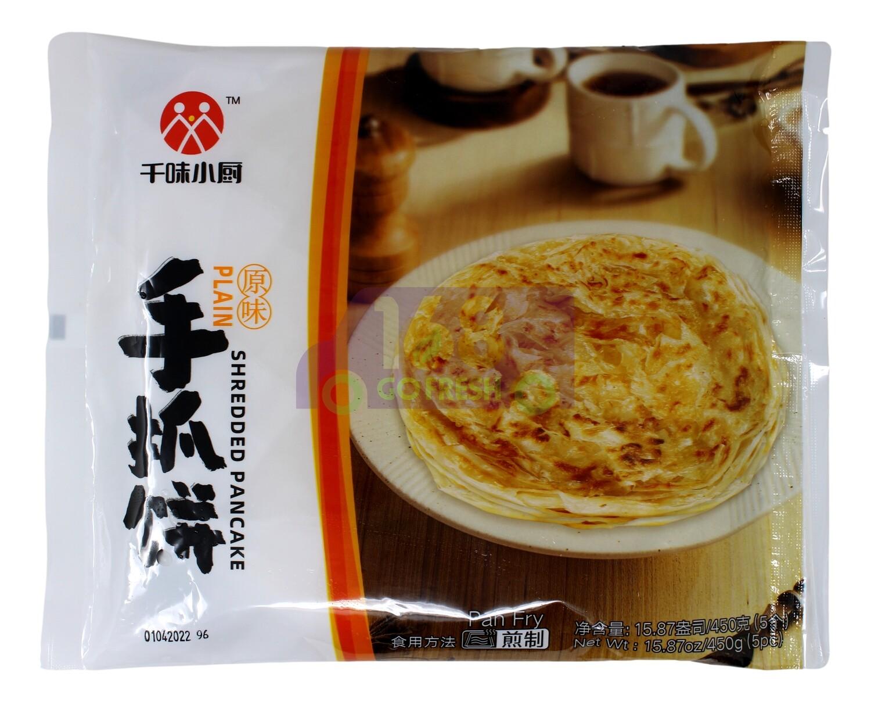 Shredded Pancake 千味小厨 原味手抓饼(15.87OZ)