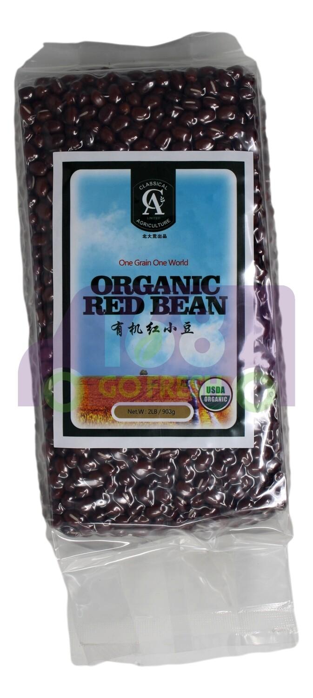 ORGANIC RED BEAN 北大荒 有机红小豆(2LB)