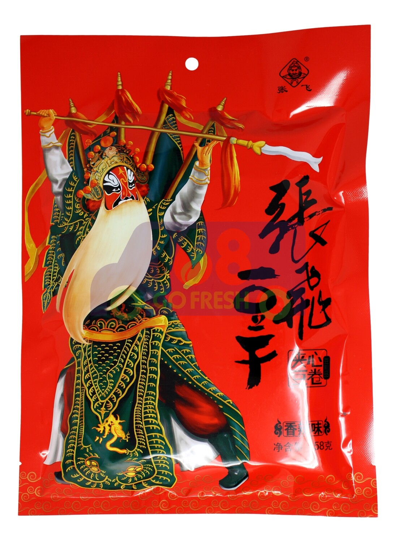 Hand-rip bean curd spicy flavor 张飞豆干 香辣味(158克)