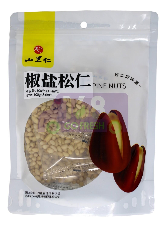 PINE NUT 山里仁 椒盐松仁(100G)