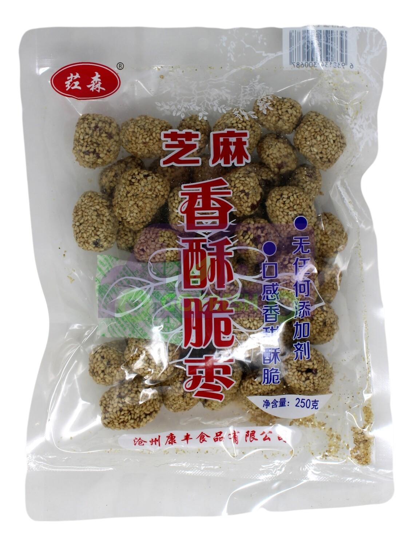 SESAME DATE SNACK 红森 芝麻香酥脆枣 (250G)