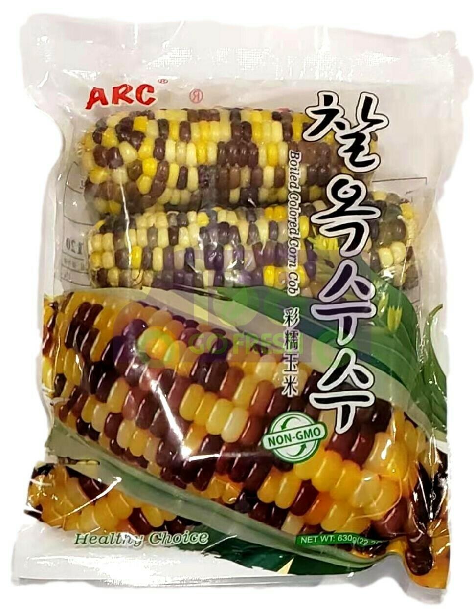 ARC Frozen Boiled Colored Corn Cob ARC 冷冻彩糯玉米(630G)