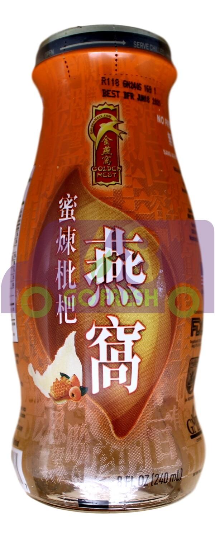 【ON SALE 热卖促销】GOLDE NET Bird's Net Drink - Loquat & Honey 240ml 金燕窝牌燕窝饮品单瓶装 - 蜜炼枇杷240ml(原价$3.99)