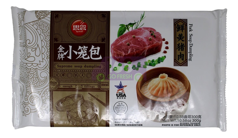 SYNEAR PORK SOUP DUMPLINGS 思念金牌 鲜美猪肉小笼包 (10.58OZ)