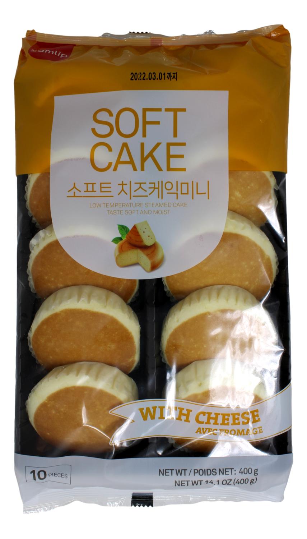 SAMLIP CHEESE CAKE 韩国 SAMPLIP 芝士蛋糕 原味10个装(400G)