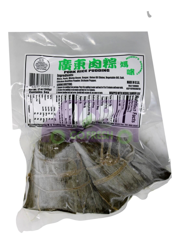 MOMMYˉS GOURMET  RICE PUDDING AND PORK 妈咪 广东肉粽 (340g)