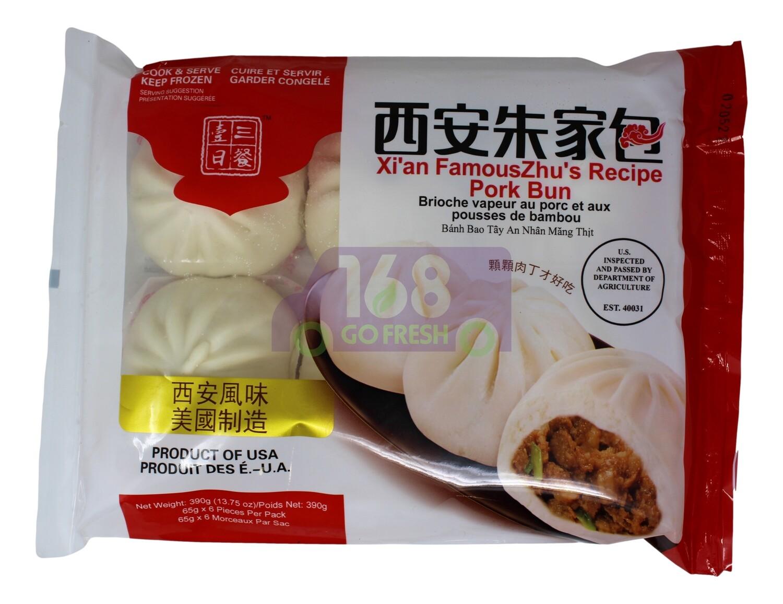 PORK BUN 一日三餐 西安朱家肉包    13.75 OZ