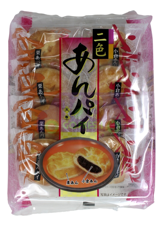TENKEI CAKE (RED BEAN/CHRESSNUT) 天惠 红小豆和栗子饼(9.31OZ)
