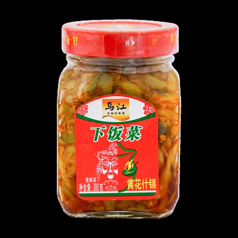 PRESERVED PICKLED VEGETABLE 乌江牌 黄花杂锦 下饭菜(300G)
