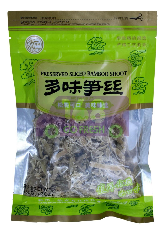 BAMBOO SHOOT SLICE  莲峰 多味笋丝(200G)