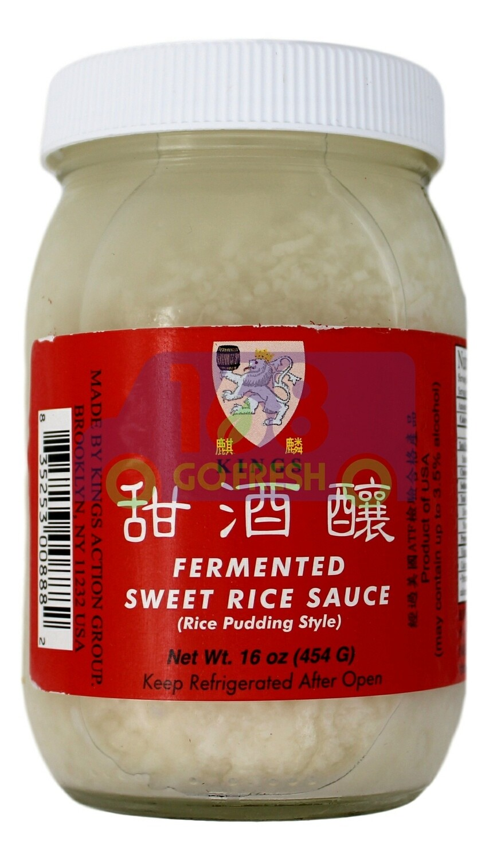 KINGS FERMENTED SWEET RICE SAUCE 麒麟 甜酒酿 (480G)