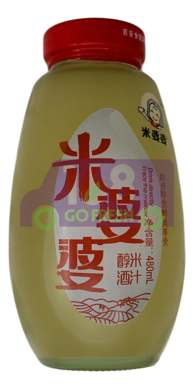 PRESERVED RICE JUICE 米婆婆 养味米酒汁(480G)