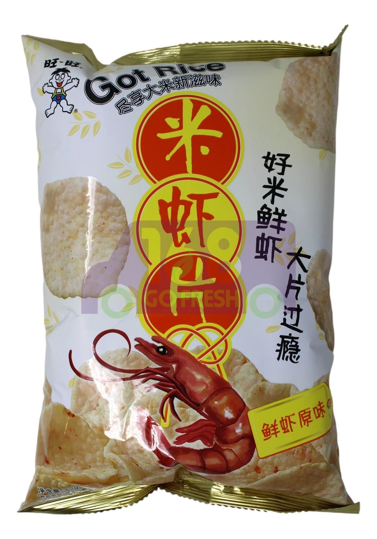 SHRIMP CHIP 旺旺 米虾片 鲜虾原味(42G)