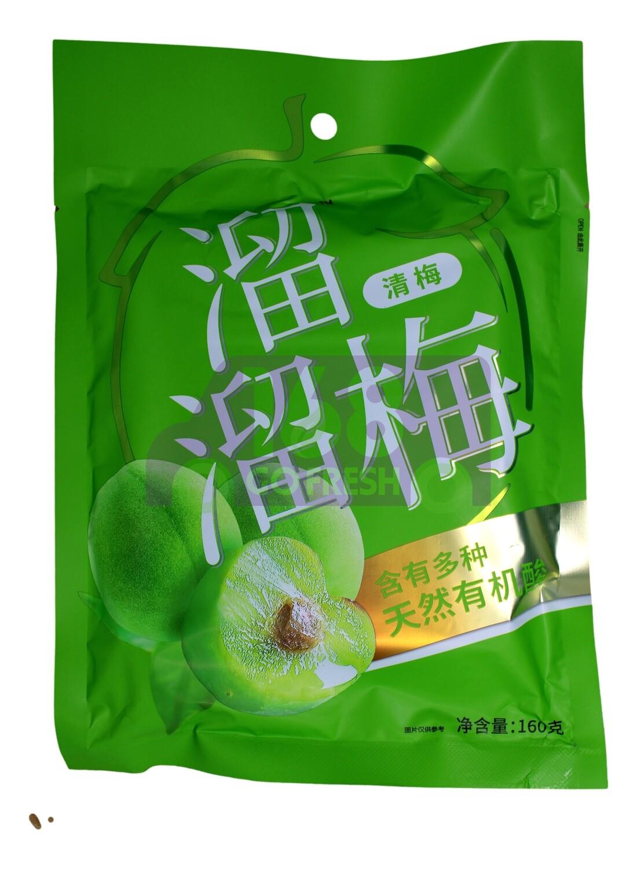 GREEN PLUM 溜溜梅 清梅(160G)